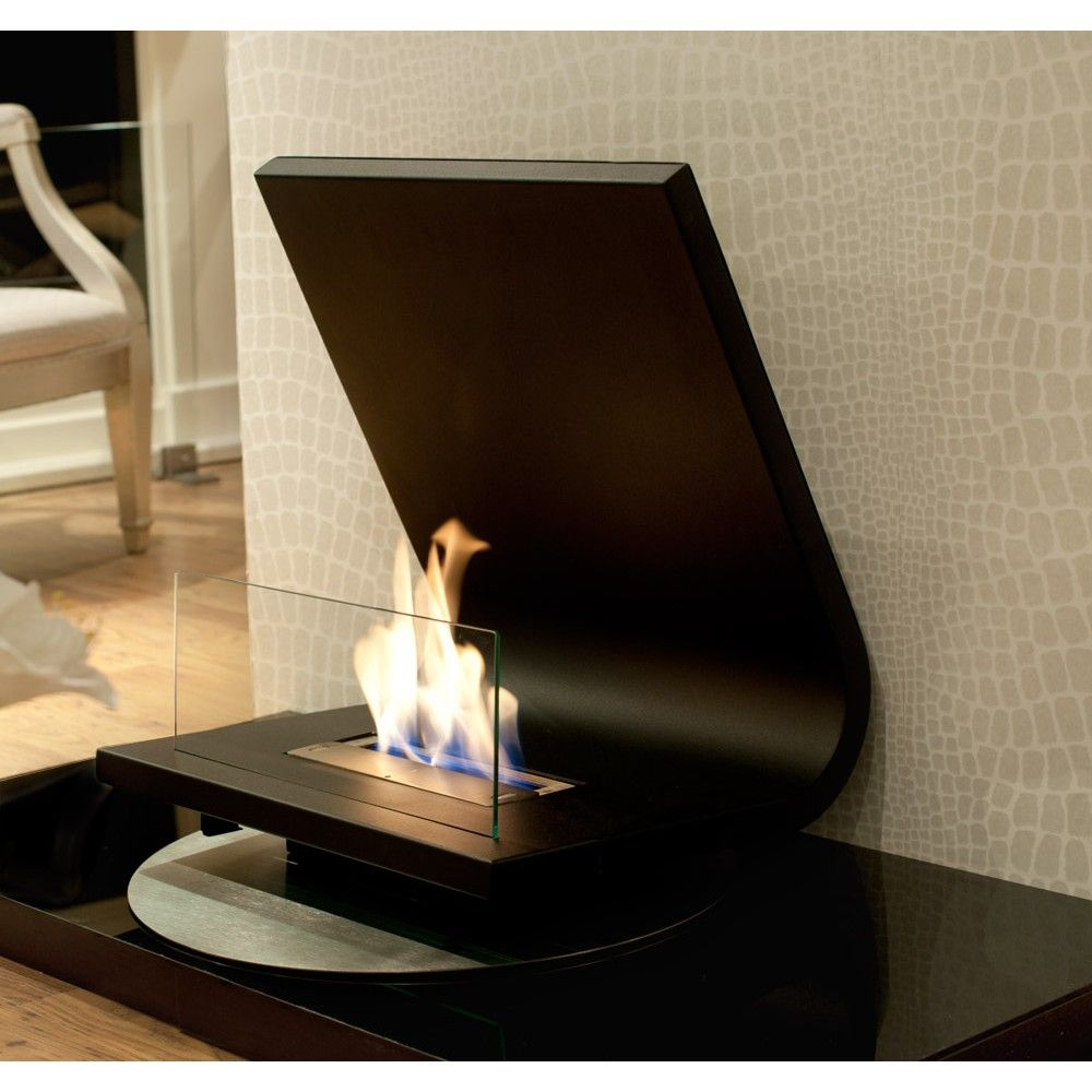 Unique Design Of A Fireplace, Laptop Design Allure Freestanding Bio  Fireplace. Great For Any