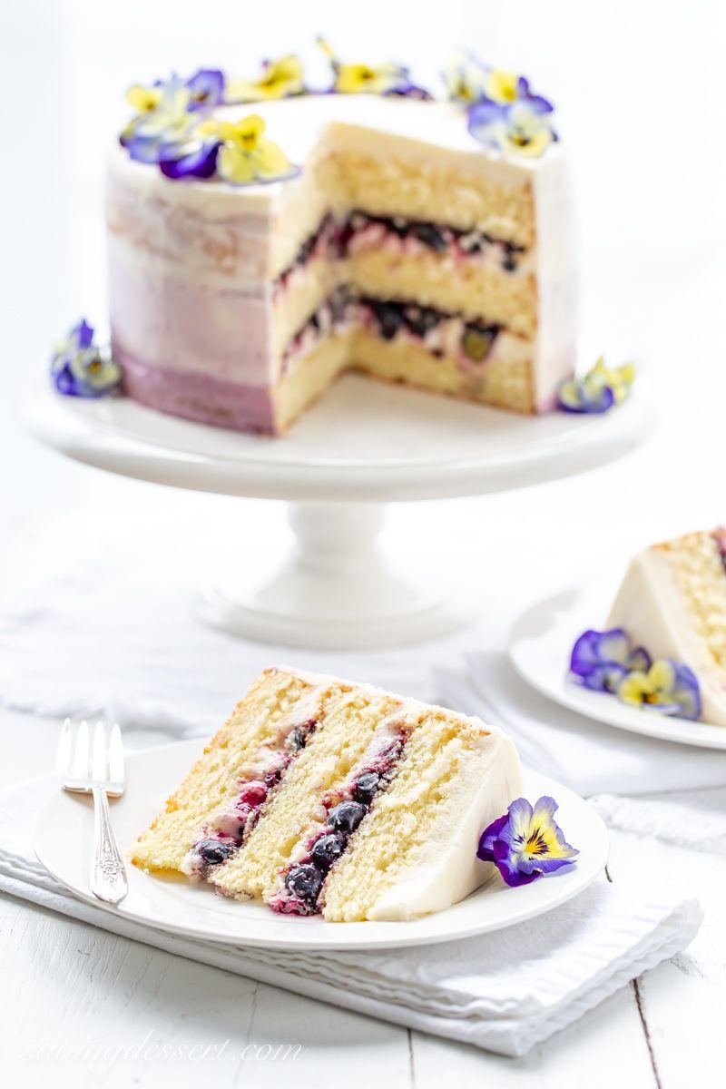 Lemon Blueberry Cake Recipe Blueberry Cake Blueberry Lemon Cake Blueberry Cake Recipes