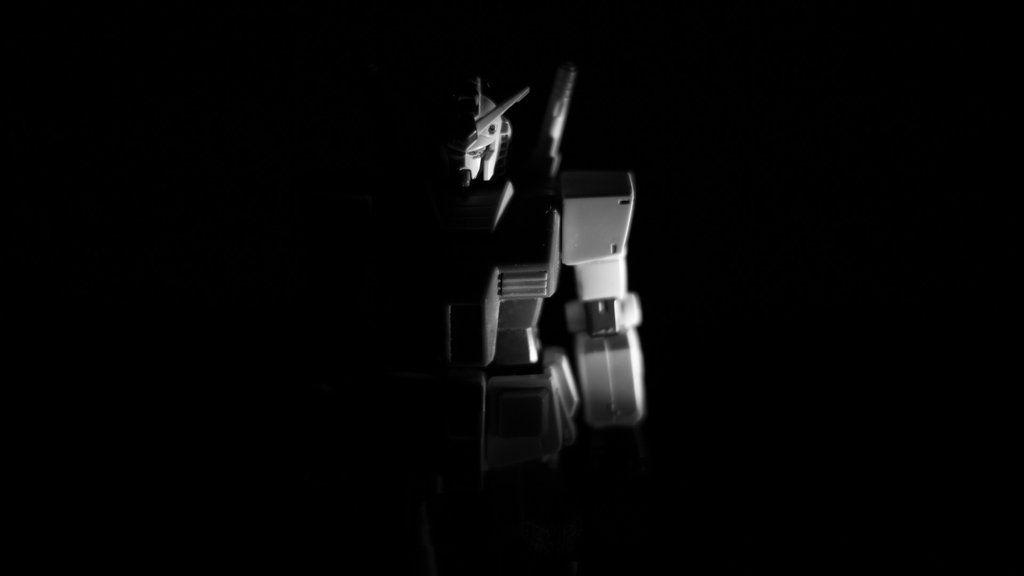 Wallpaper Gundam in the darkness (1920x1080)