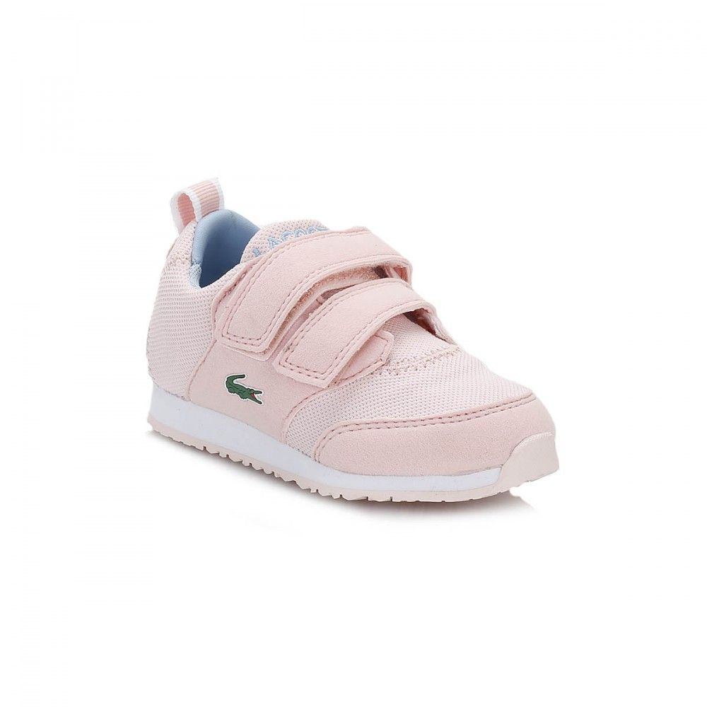 Lacoste Infants Pink L.IGHT Trainers
