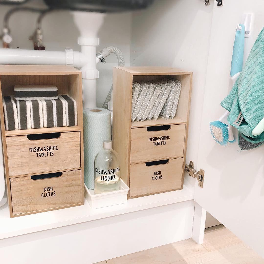 Kmart Small Pantry Organisation