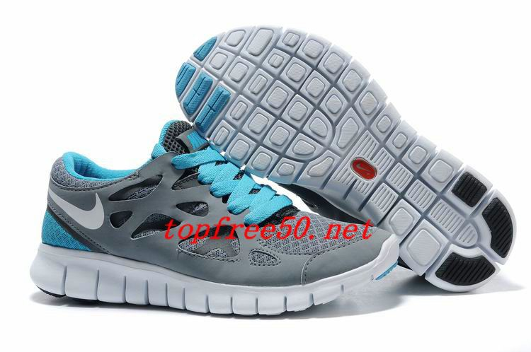 separation shoes 3d168 bc573 uE4723 Cool Grey White Anthracite Chlorine Blue Nike Free Run 2 Men s  Running Shoes