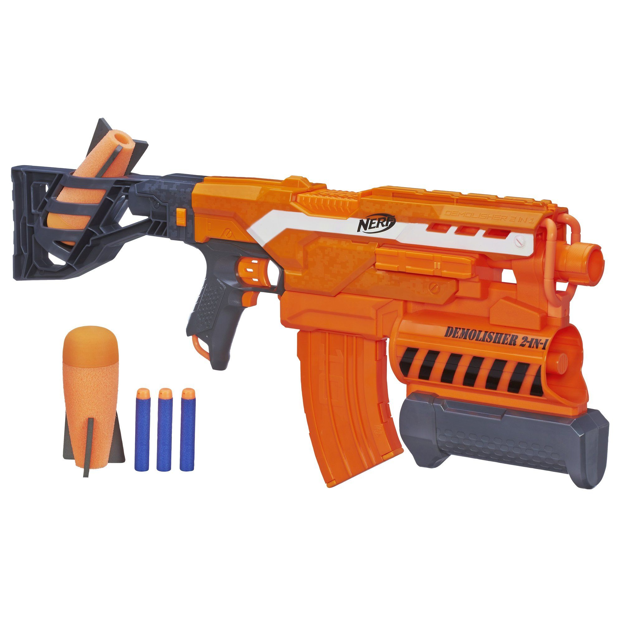 Amazoncom Nerf N Strike Elite Demolisher 2 In 1 Blaster Christmas 2014Kids Christmas