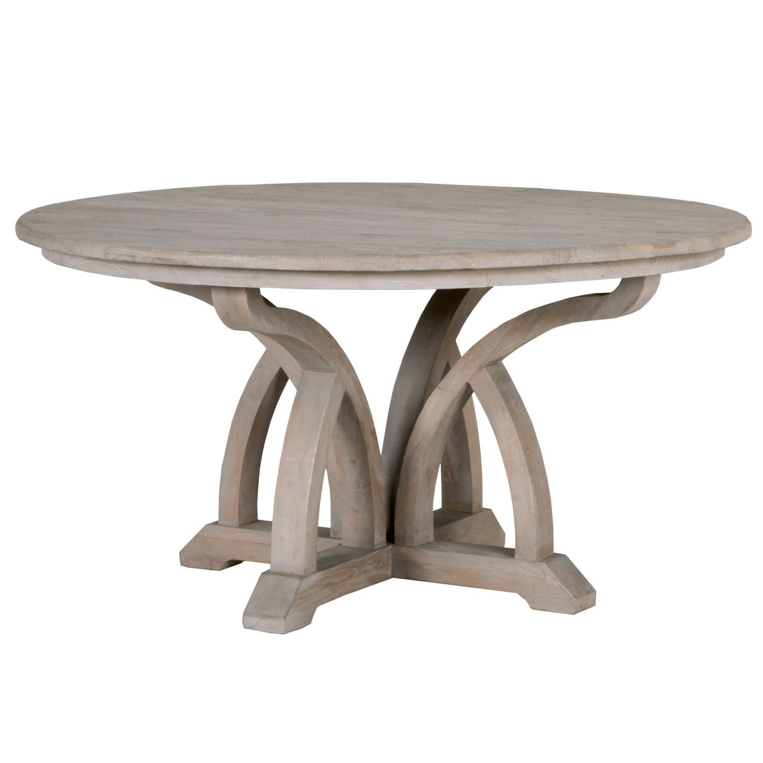 "Carnegie 60"" Round Dining Table (With images) 