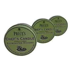 Prices Chefs Candle in Tin - Eliminates Cooking Cooks Kitchen Odour - TRIPLE PACK: Amazon.co.uk: Kitchen & Home