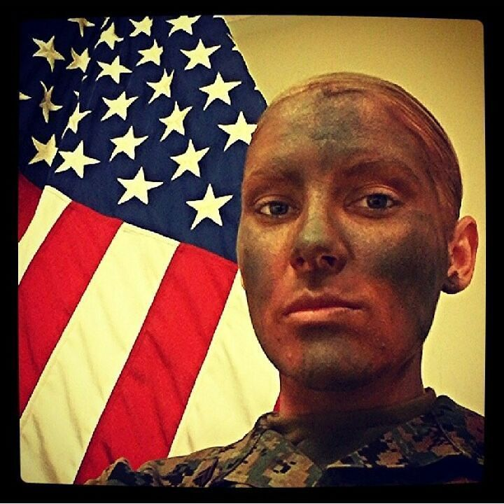 #TBT  #usmc #military #america #usa by macey_estrella