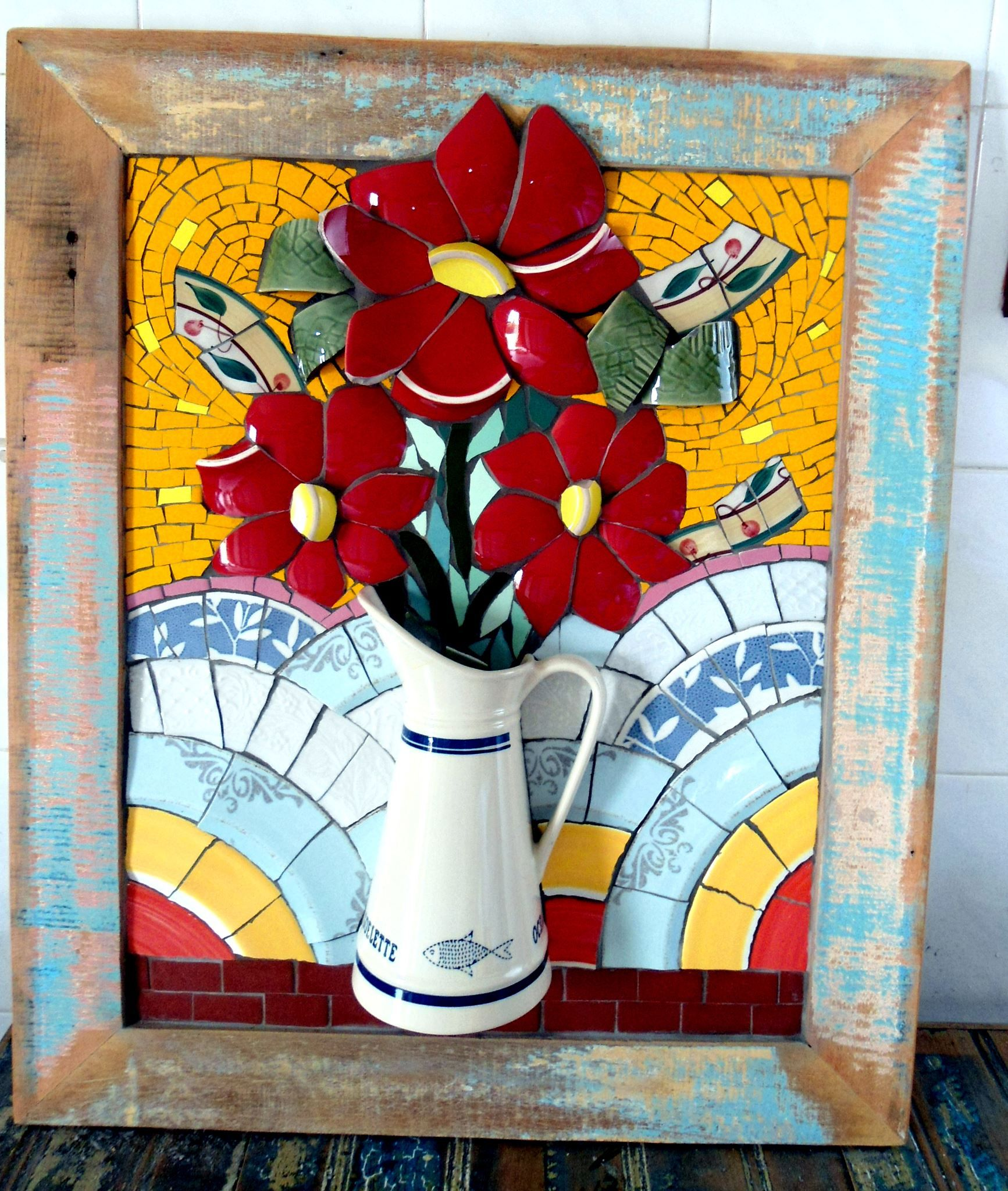 Imagen relacionada mosaicos pinterest mosaicos for Mosaico ceramica