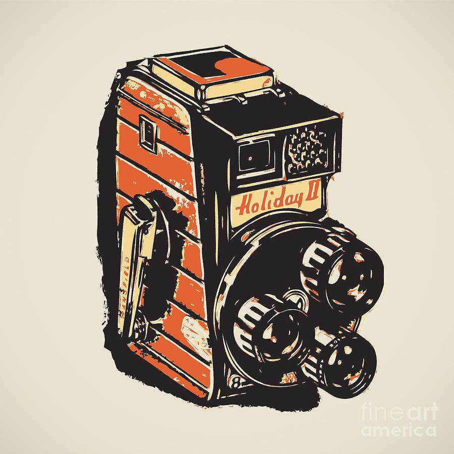 8Mm Vintage Camera 8mm vintage camera canvas print / canvas artigor kislev