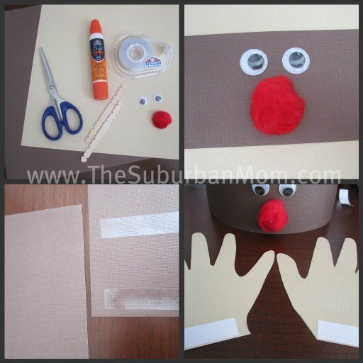 Reindeer Crown Kids Craft
