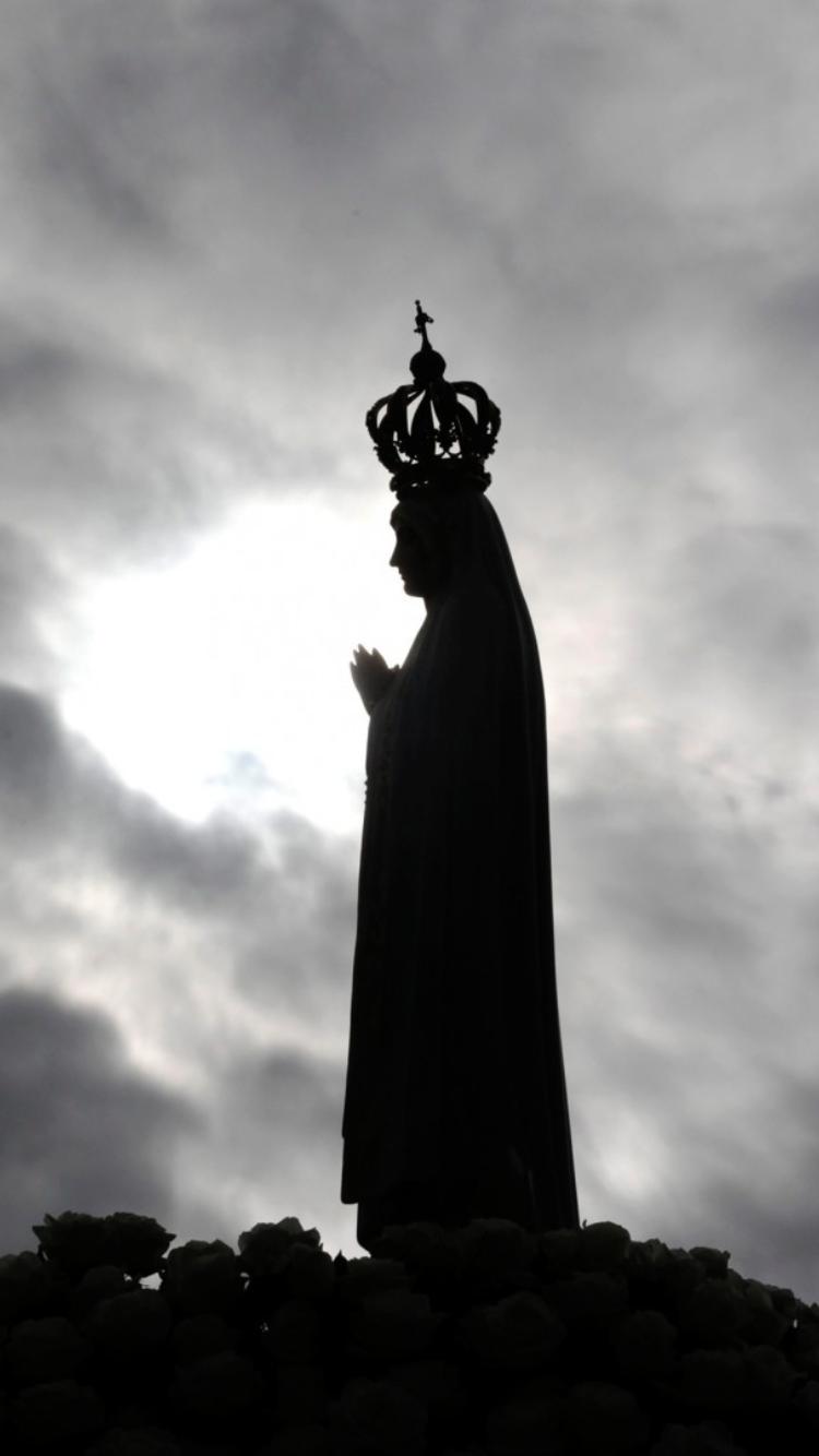Nossa Senhora De Fatima Rogai Por Nos Imagem De Igreja Imagem