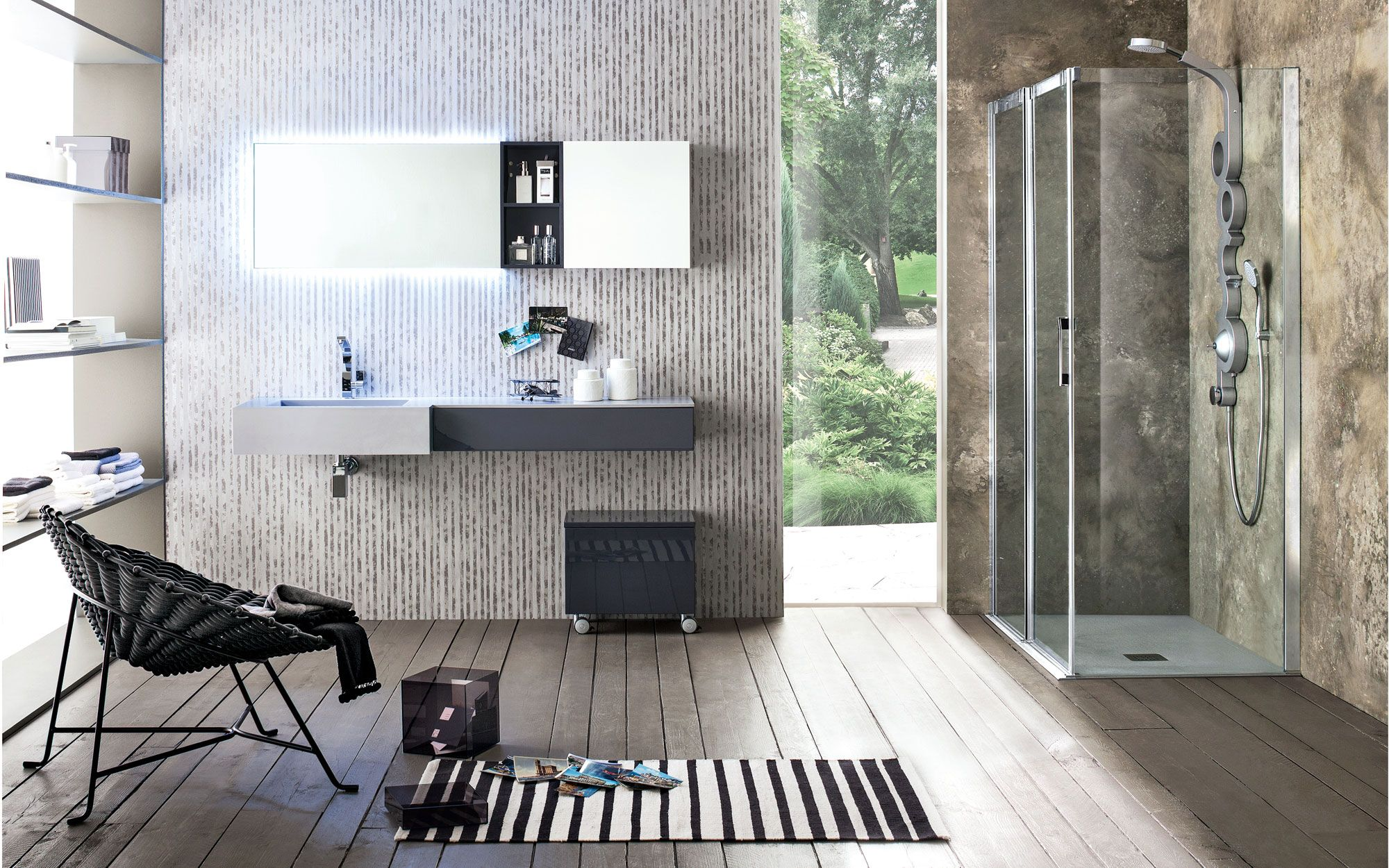 Complete italiaanse designbadkamer by arblu exclusief
