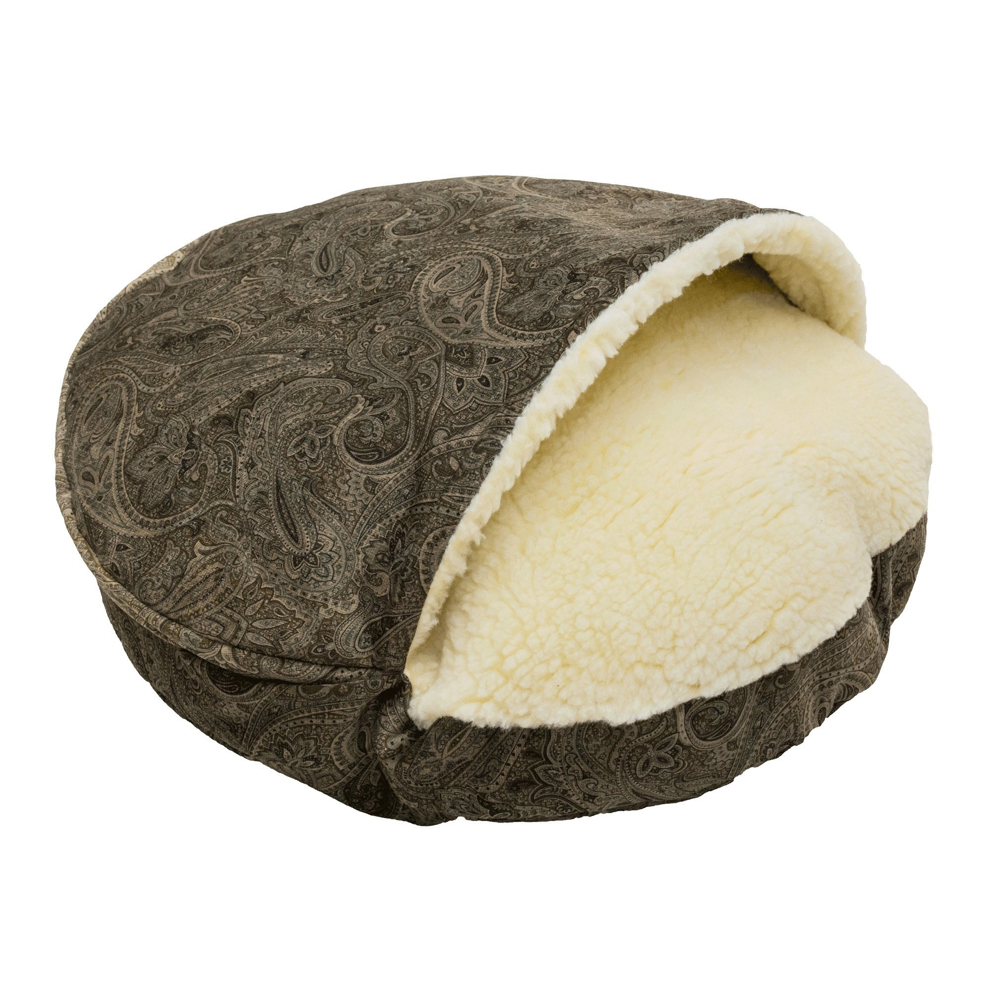 Snoozer Cozy Cave Laurel Premium Micro Suede Pet Bed
