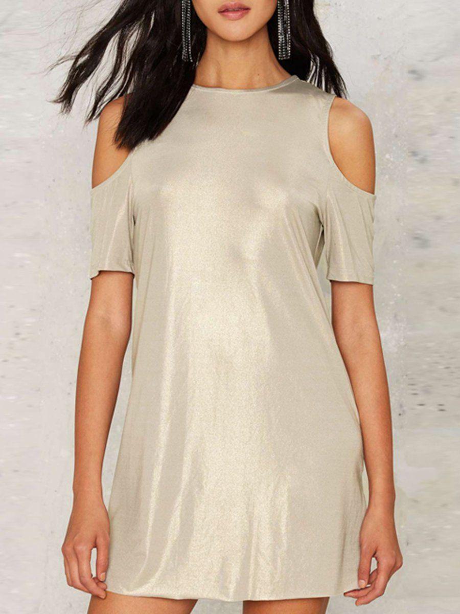 Adorewe justfashionnow casual dresses designer haoduoyi silver