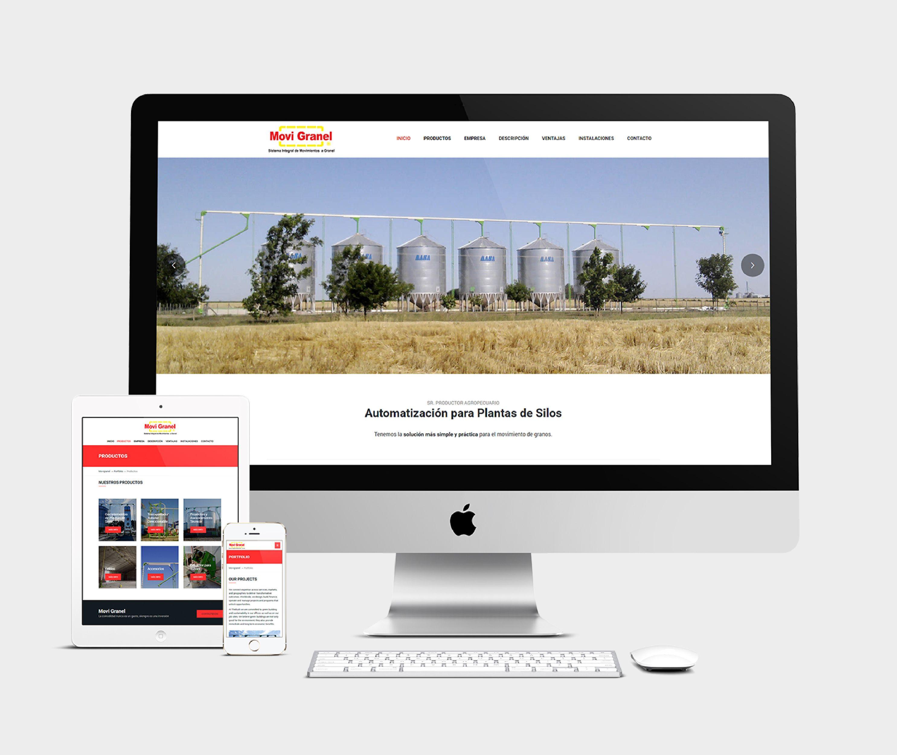 Website responsivo, diseñado y desarrollado en HTML5 y