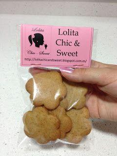 Galletas de Canela Que ricas y crujientes están!!! Lolita Chic & Sweet