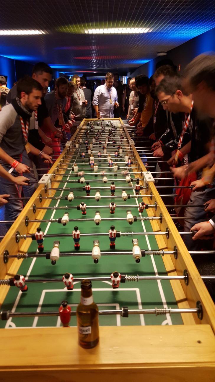 I Need This Giant Foosball Table Sport Bar Design Foosball