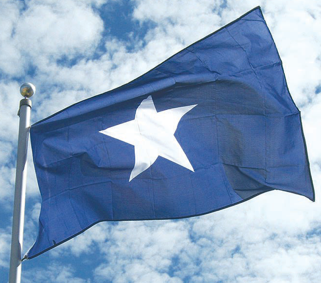 e1f71fcfe7d7da The Bonnie Blue Flag....Battle flag flown by southern states at the start  of the Civil War. Originally used by the Republic of West Florida.  interesting ...
