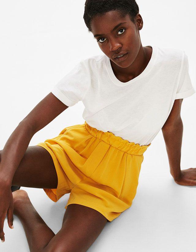 Shorts - CLOTHES - WOMAN - Bershka United Arab Emirates