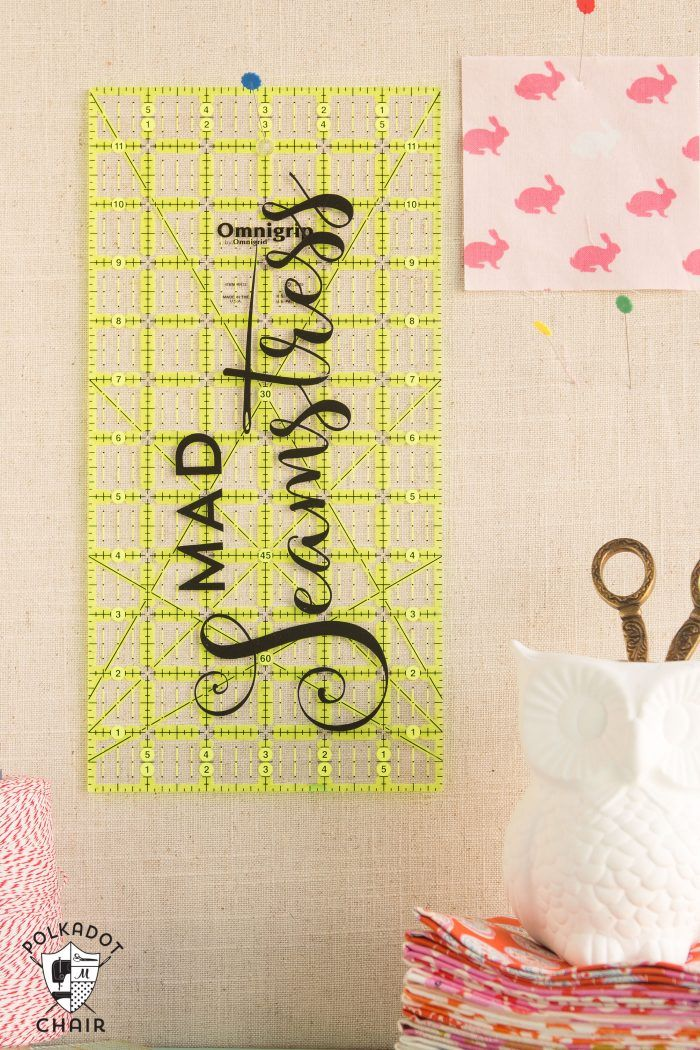 DIY Sewing Room Decor Ideas {and free Cricut Cut Files | Sewing ...