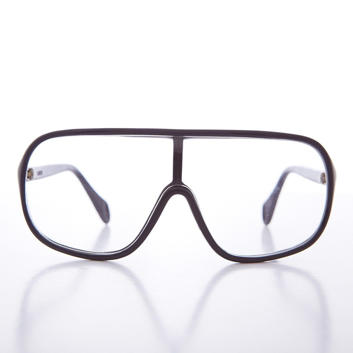c34a1e87620bd Hip-Hop Wrap 1990s Vintage Safety Clear Lens Glasses NOS-ZION ...