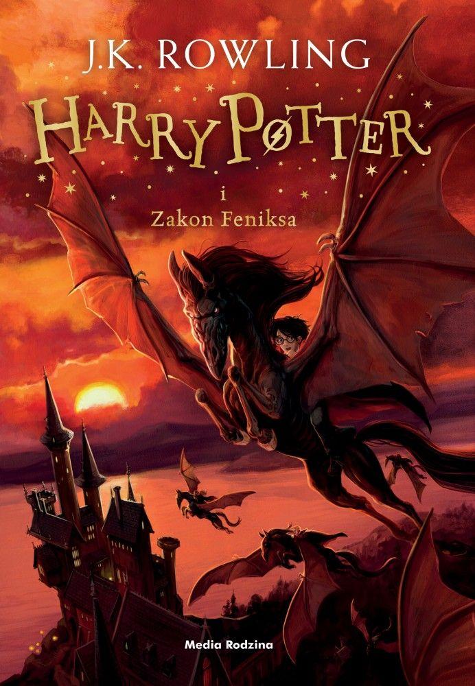 J K Rowling Harry Potter I Zakon Feniksa Phoenix Harry Potter Rowling Harry Potter Harry Potter Book Covers