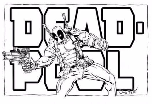 imagenes de deadpool para dibujar facil | Peliculas de Marvel ...