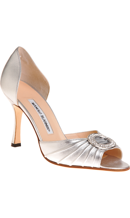 5f1a295acc5b Manolo Blahnik Sedaraby. The shoes that were stolen from Carrie Bradshaw!  Would be fabulous for a wedding (or anytime!)