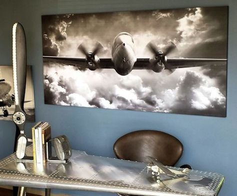 Wingspan Large Aviation Canvas Would Look Great Over A Sofa In Man Cave Or Desk Your Office Life Pinterest