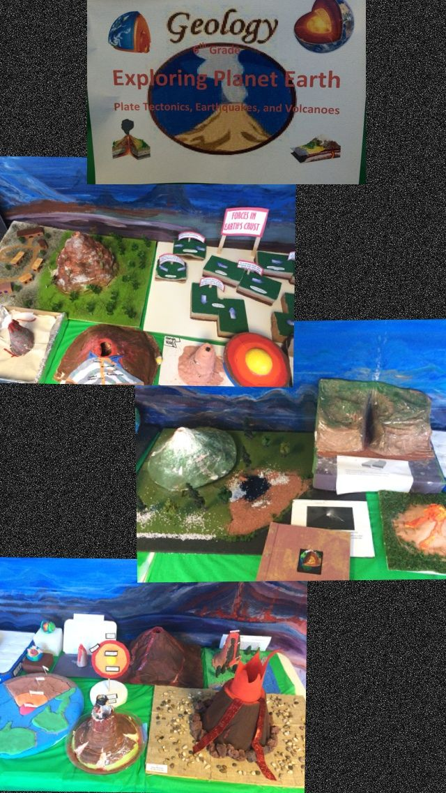 Th Grade Land Forms Project  Earth Science In The Middle Grades