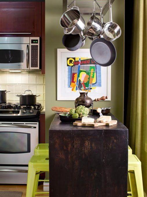 diseño pequeña cocina isla   Cocinas pequeñas   Pinterest   Diseño ...