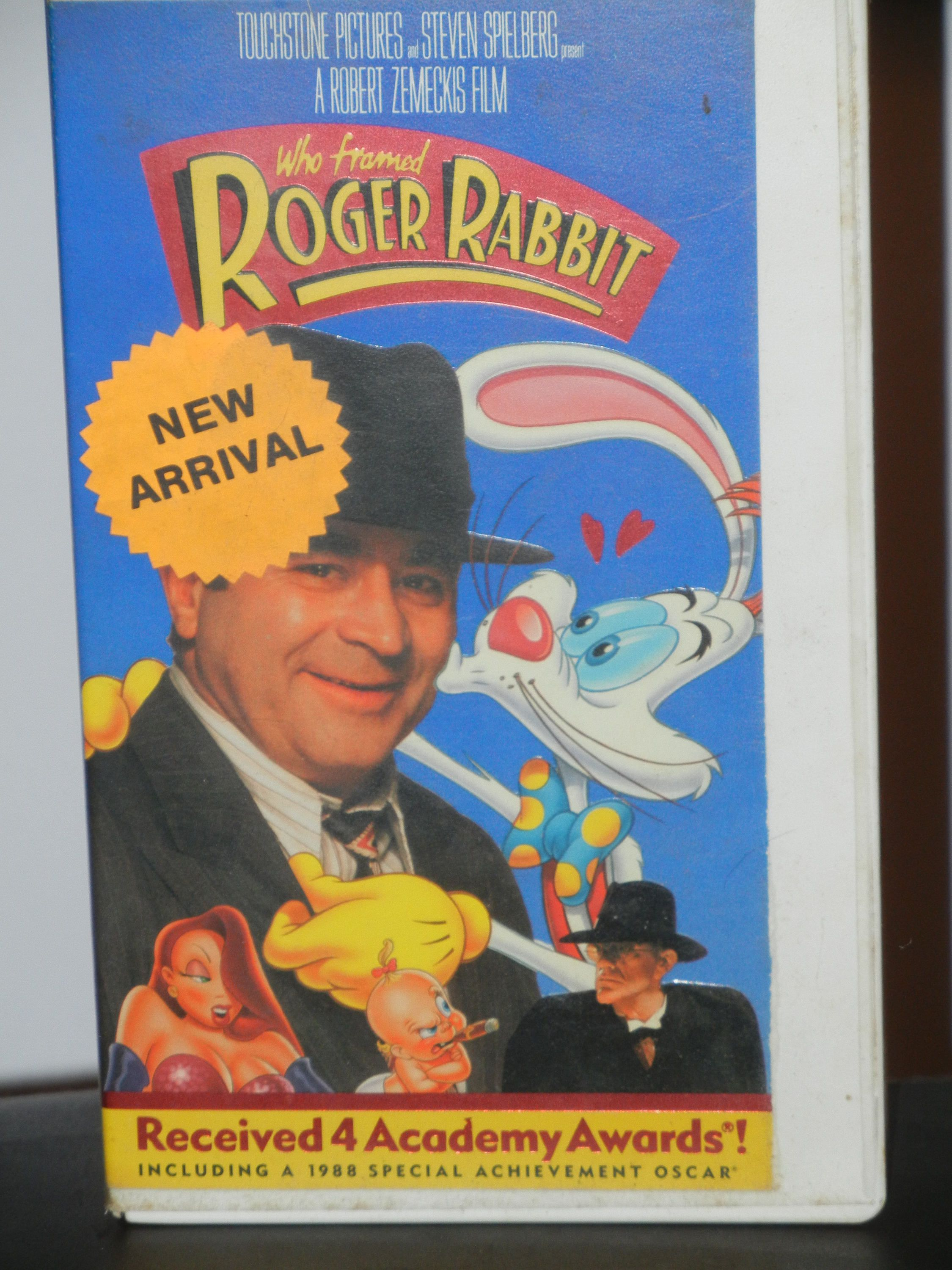 Who Framed Roger Rabbit VHS Movie Film Bob Hoskins Christopher Lloyd ...