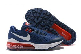 05e6e186cae Ventilation Nike Air VaporMax Flyknit Navy Blue Red White 859666 004 Mens  Running Shoes Trainers