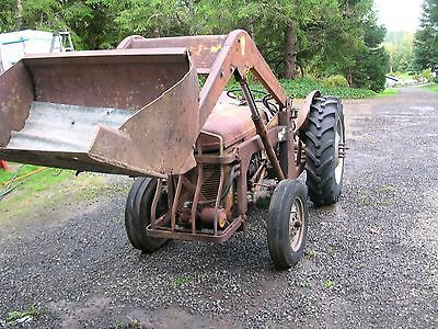 Ferguson To30 Farm Tractor With Loader Ford 8n 9n Tractors Farm