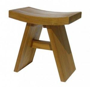 Superb Floor Sample Classic Asia Teak Shower Bench Inzonedesignstudio Interior Chair Design Inzonedesignstudiocom