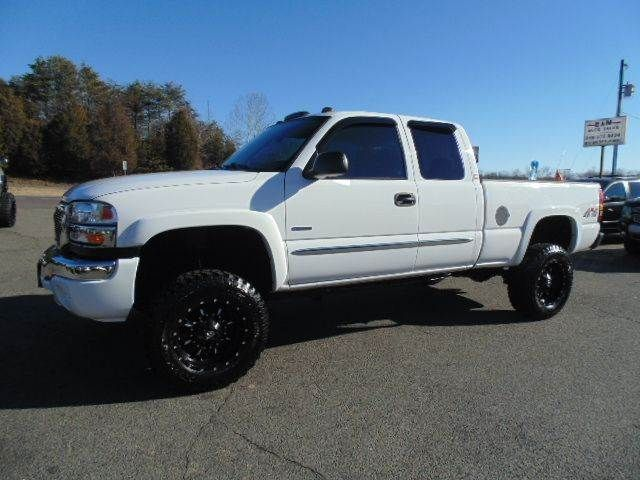 Www Emautos Com Lifted 005 Gmc Sierra 2500hd Sle Ext Cab 4x4