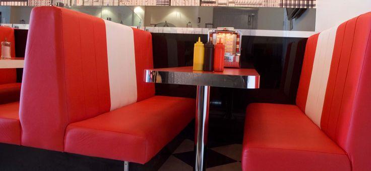 Brilliant Amercian Diner Booths American Booth Seating American Creativecarmelina Interior Chair Design Creativecarmelinacom
