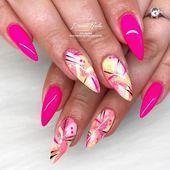 #Abstracted #Almond #Choose #Hot #Nai #Nail –
