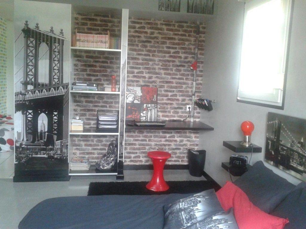 chambre loft pour ado pour rideau chambre ado moderne garcon coration - Rideau Pour Ado
