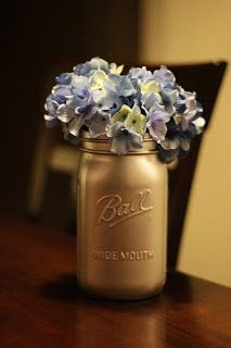 being Rachy: more crafts | Crafts | Spray paint mason jars