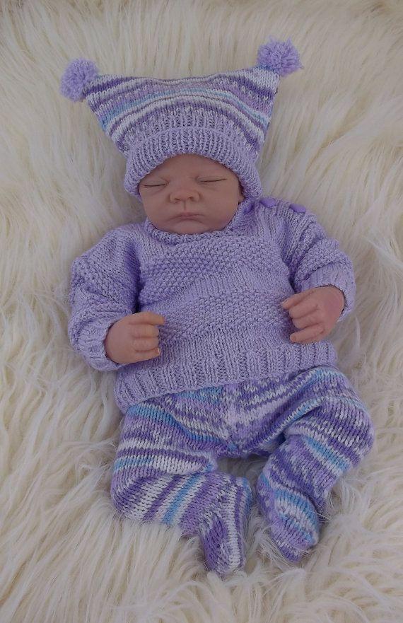 Baby Knitting Pattern Download Pdf Knitting Pattern Sweater Set