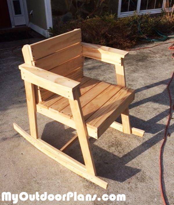 Wondrous Diy Rocking Chair Myoutdoorplans Free Woodworking Plans Gamerscity Chair Design For Home Gamerscityorg