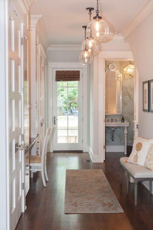 Hollingsworth interiors   entrances/foyers   rajapur wallpaper ...