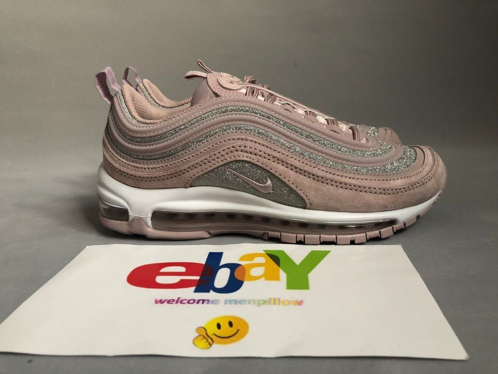 best website 86b47 081f4 Nike Air Max 97 Particle Rose Pink Womens Running Sneaker AT0071-600 Nike  RunningShoes