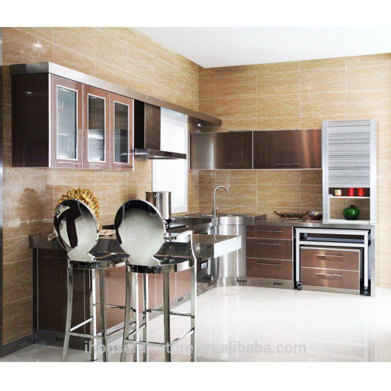 Fantastic Modern Aluminium Kitchen Cabinetfair Price Kitchen