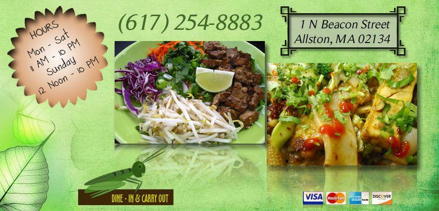 Grasshopper Restaurant Allston Ma 02134 Menu Chinese Vegetarian Vietnamese Online Food In Boston Online Food Order Chinese Food Vegetarian