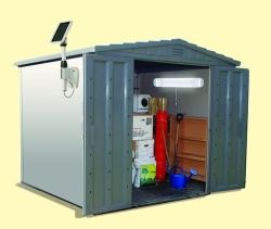 There Is No Need To Go Through The Cost Of Running Electricity A Shed Put Up Light Solar Ed Can Be Added Without