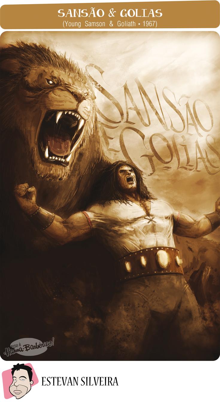 Isso é Hanna-Barbérico!: Sansão & Golias (Young Samson & Goliath - 1967) - ...