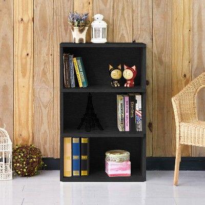 36 8 Trinity 3 Shelf Eco Friendly Bookcase And Storage