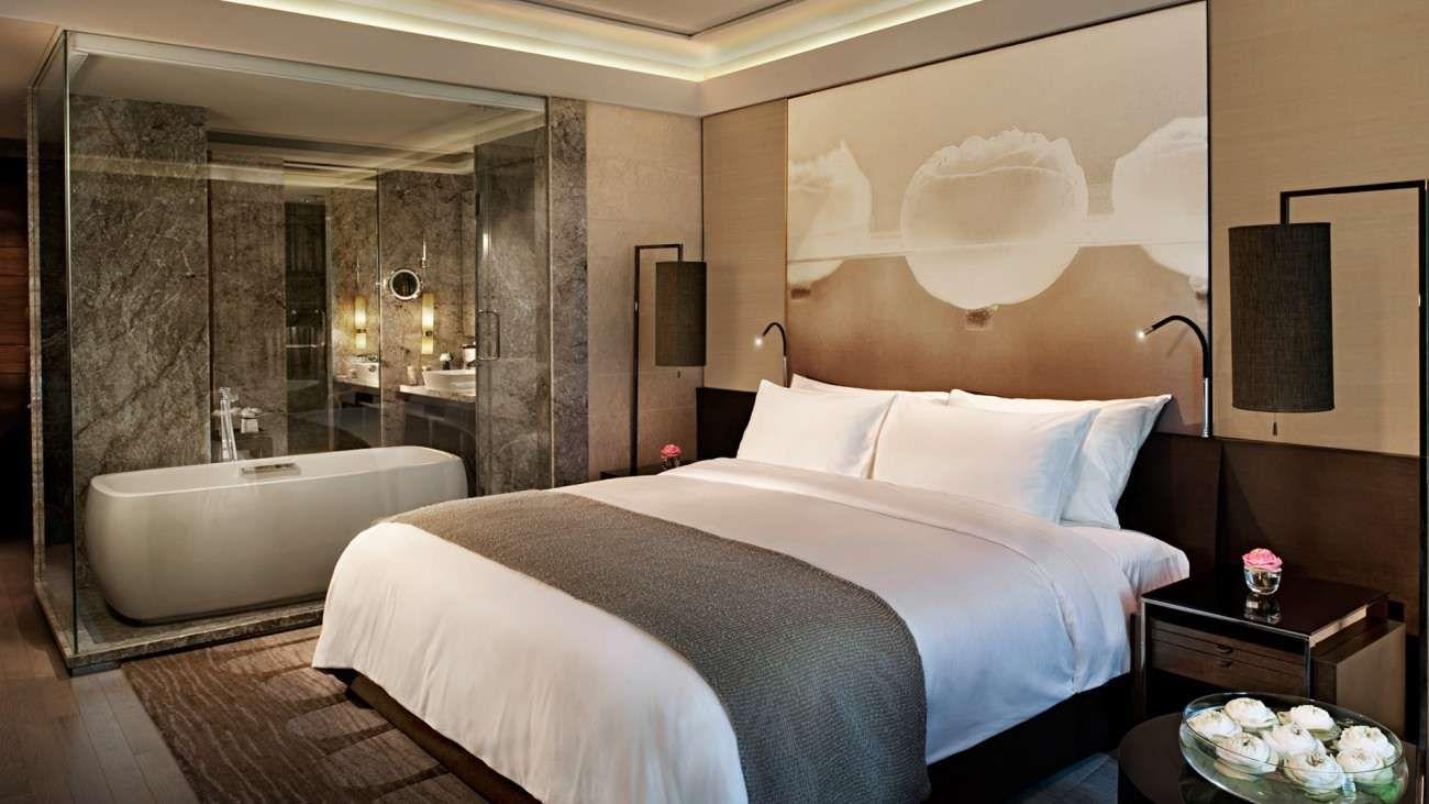 Master Bedroom Hotel premier room | siam kempinski hotel bangkok | bedroom areas