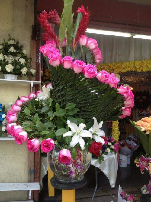 Maria bonita flowers pinterest flower arrangements flower arrangement from one of the shops at los angeles flower district mightylinksfo